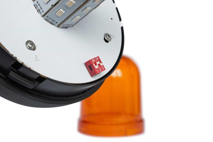Lampa błyskowa ostrzegawcza kogut SMD LED 166D