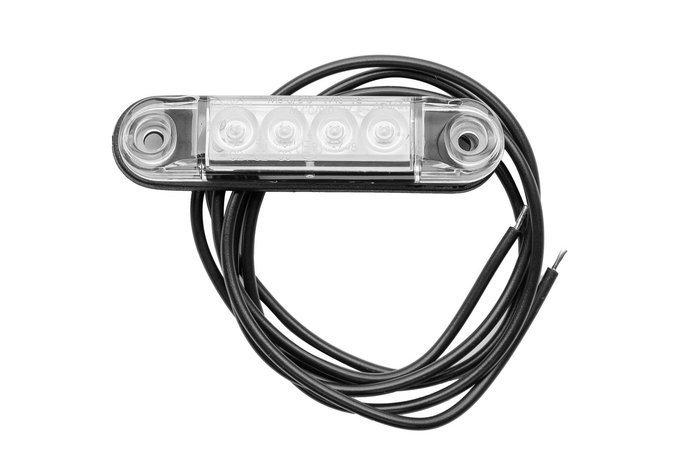 Lampa obrysowa LED Horpol SLIM biała